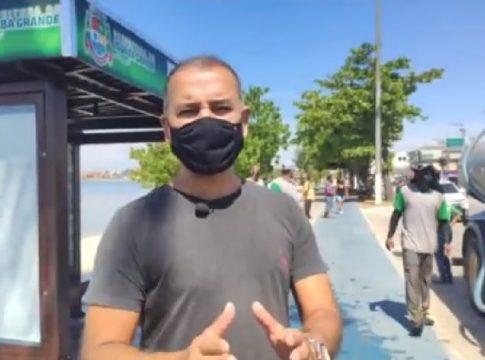 Prefeito de Iguaba Grande explicou 'superbarreiras' em vídeo nas redes sociais nesta quarta-feira (24)