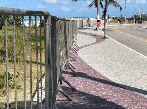 Praias em Cabo Frio estão proibidas desde a semana passada; decreto será renovado pela Prefeitura | Foto: João Victor Silva/arquivo pessoal