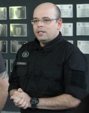 O tenente-coronel Alex Benevenuto